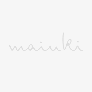 Turn Up Beanie Waffle Knit grey